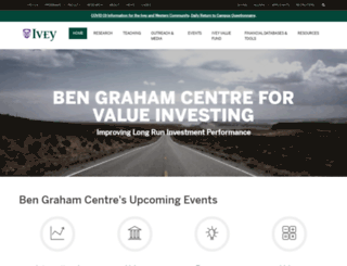 bengrahaminvesting.ca screenshot