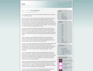benher.wordpress.com screenshot
