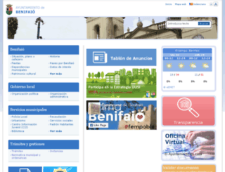 benifaio.es screenshot