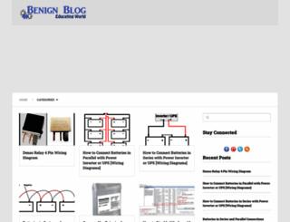 benignblog.com screenshot