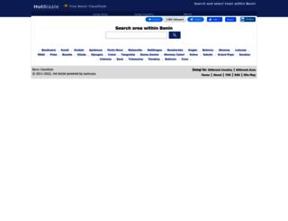 benin.hotbizzle.com screenshot