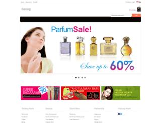 bening.jejualan.com screenshot