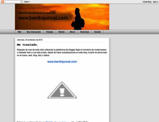 benitojuncal.blogspot.com screenshot