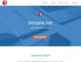 benjala.net screenshot