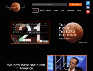 benjaminbaruch.net screenshot