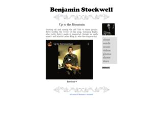 benjaminstockwell.com screenshot
