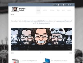 benjaminyeurch.com screenshot
