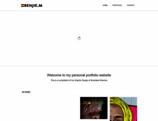 benjie.co.za screenshot