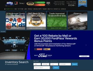 bennaford.com screenshot