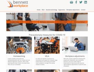 bennett-workplace.co.uk screenshot