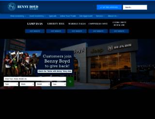 bennyboyd.com screenshot