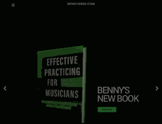 bennygreb.com screenshot