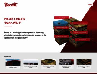 benoit-inc.com screenshot