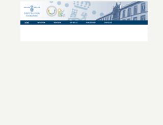 benourense.depourense.es screenshot