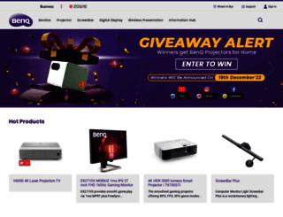 benq.co.in screenshot