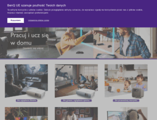 benq.com.pl screenshot