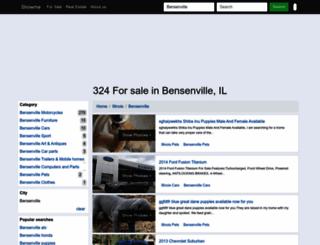 bensenville-il.showmethead.com screenshot