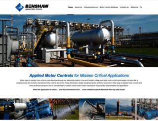 benshaw.com screenshot