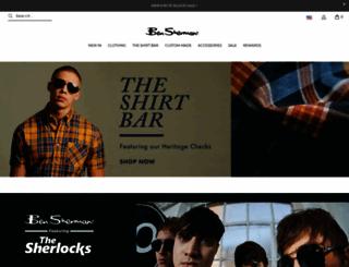 bensherman.com screenshot