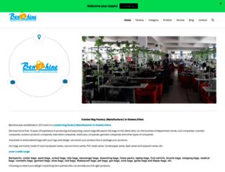 benshine-bags.com screenshot