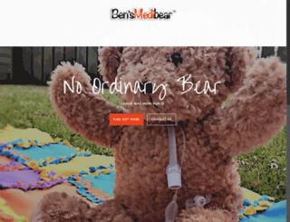 bensmedibear.com screenshot