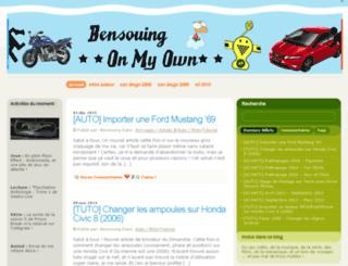 bensouing.com screenshot