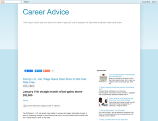 benta-career-advice.blogspot.com screenshot