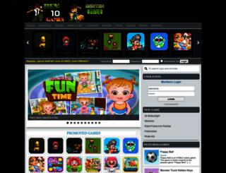 benten10games.com screenshot