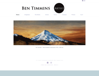 bentimmins.co.nz screenshot