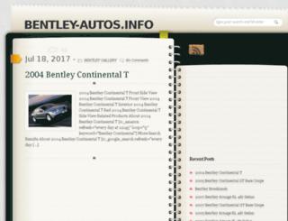 bentley-autos.info screenshot