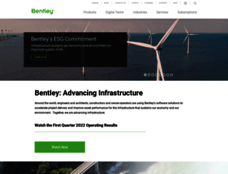 bentley.com screenshot