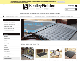 bentleyfielden.co.uk screenshot