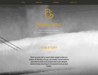 bentleygroup.ca screenshot