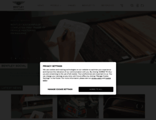 bentleymedia.com screenshot