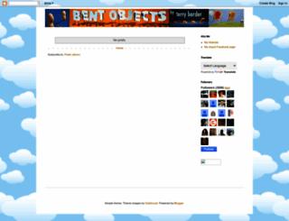 bentobjects.blogspot.com screenshot