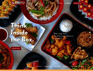 bentocafesushi.com screenshot