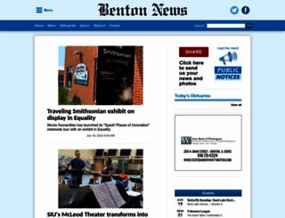 bentoneveningnews.com screenshot