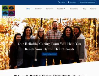 bentonfamilydentistry.com screenshot