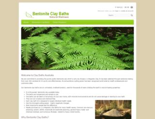 bentoniteclaydetox.com.au screenshot
