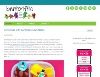 bentoriffic.com screenshot