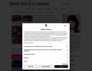 bentoschoollunches.blogspot.com screenshot