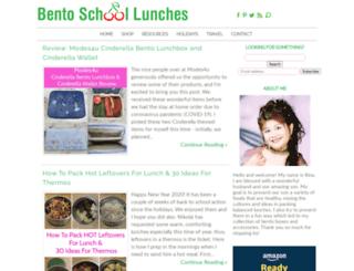 bentoschoollunches.com screenshot