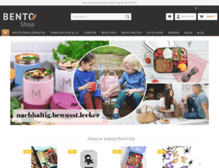 bentoshop.de screenshot