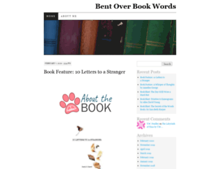 bentoverbookwords.com screenshot