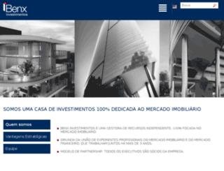 benxinvestimentos.com.br screenshot