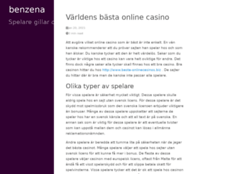 benzena.com screenshot