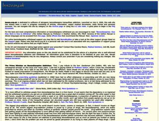 benzo.org.uk screenshot