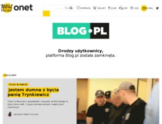 benzynawzylach.blog.pl screenshot