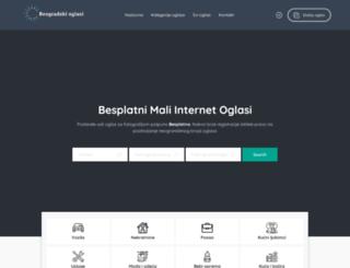 beogradskioglasi.in.rs screenshot