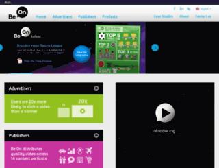 beon.aolnetworks.com screenshot